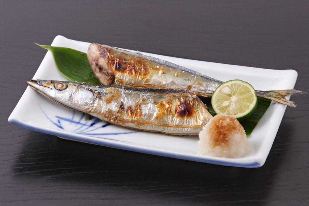 1番人気:秋刀魚(さんま)