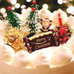 クリスマスケーキの始まりや種類は?人気のクリスマスケーキとは?