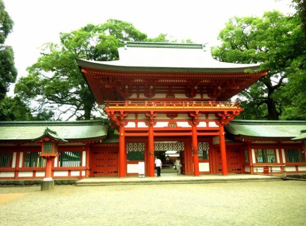 武蔵一宮氷川神社:節分祭