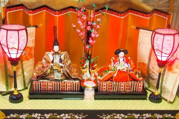 関東地方の雛人形の飾り方:武家パターン