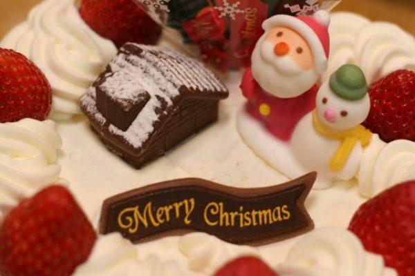 クリスマスケーキの種類とは?