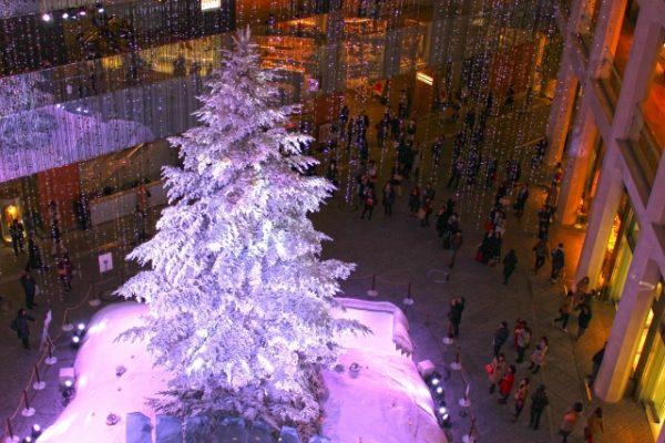 ショッピングを満喫するクリスマスデートスポット