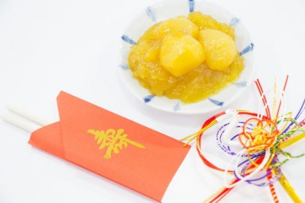 おせち料理人気ランキング第2位:栗きんとん