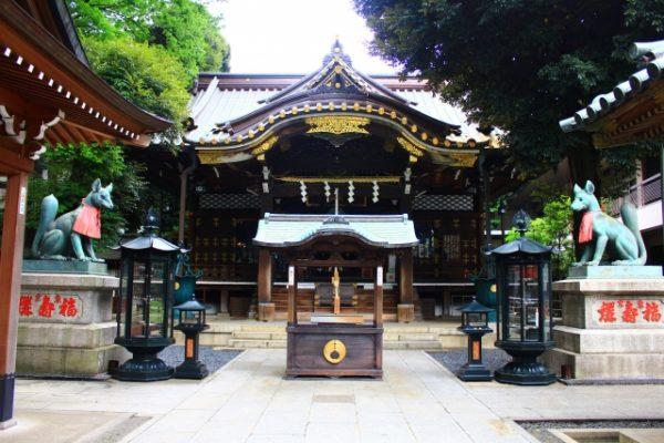 豊川稲荷東京別院の豆まきイベント