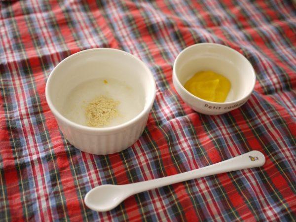 離乳食初期におすすめの食材